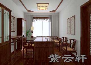 中式古典装修设计上海孙宅案例赏析