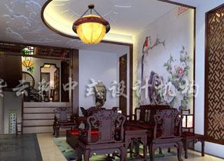 文化意蕴的传承—别墅装修简约古典中式风格案例