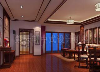 现代中式别墅设计装修之中的婉约情调