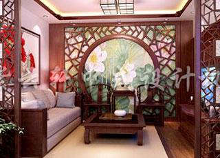 雅致而不俗—古典中式别墅装修风格效果图