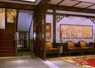 紫云轩现代中式装修案例赏析-古典与现代传世经典的完美演绎
