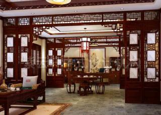中式装修让身心得到艺术的陶冶—中式别墅装修