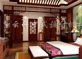 古典中式风格别墅装修效果图—方显中国风之美