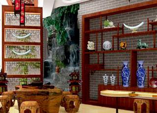 别墅中式装修设计-庭院深深,感受大家风范