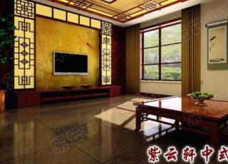 别墅中式装修-古典元素的现代风情开封案例