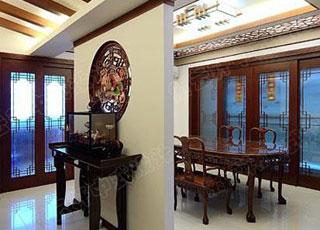 新古典中式装修风格设计的高贵色彩彰显-品位文化的内涵