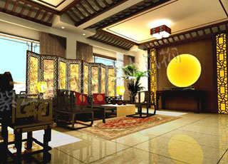 别墅古典中式装修案例图片赏析-品味不一样的古典中式设计风格