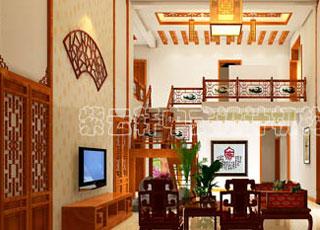 别墅中式装修之古典中式装饰设计-品味中国古典印象