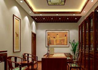 古典中式装潢设计风格上海普陀区某设计案例欣赏