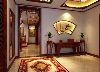 常州得园豪宅简约中式风格别墅设计 精致华美