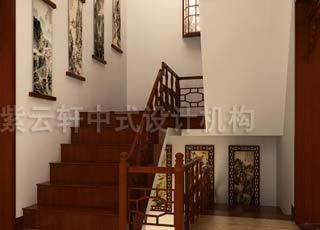 中式装修独特优雅的艺术风格—别墅复式中式设计
