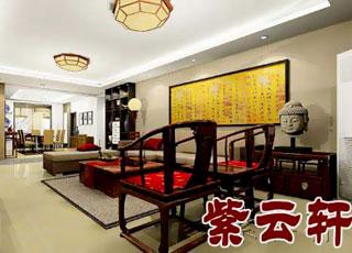 中式风格设计 海南三亚某别墅案例
