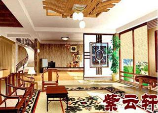 中式古典装修风格--龙湖别墅设计案例