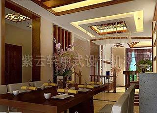刘宅现代中式装修风格设计案例赏析-感受中西结合风格之美