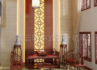 将古典中式装饰设计之韵味出色呈现-简约大气的别墅中式装修