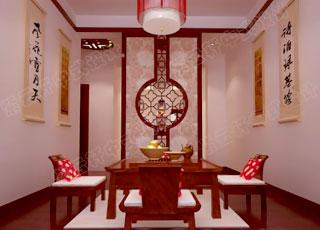 时尚的现代中式风格设计案例-简洁明快的温馨家居