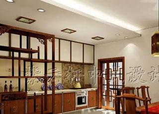 简约中式家居紫金庄园案例设计
