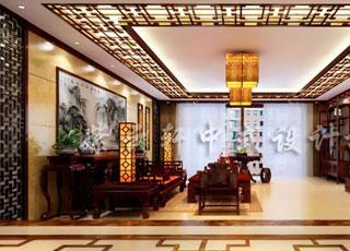 简约而不简单—简约古典中式别墅装修案例