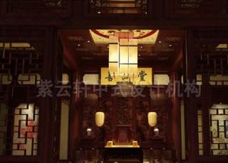 清幽古典四合院装修,豪华又不失文人气质彰显大宅气度