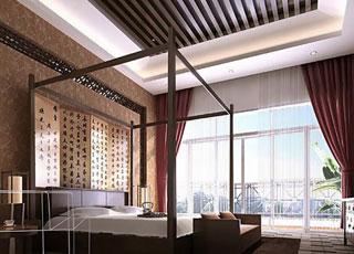 新中式四合院装修设计-四合院的恢宏与浪漫在灵气中体现