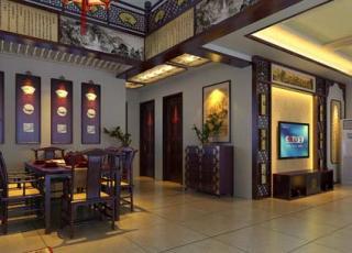 郑州私人会馆古典中式装修风格案例赏析