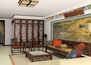 北京某四合院中式装修设计案例-古典与现代的完美结合