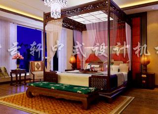 广州某别墅简约古典中式风格别墅装饰-高贵典雅的理想之居