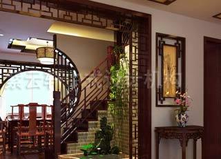 中式古典顶楼设计——宛若天成造就小巧玲珑的空中楼阁