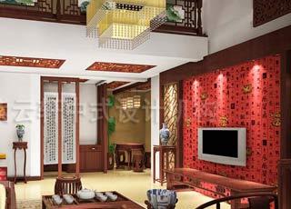 迎和了中式家居风格—古典简约中式别墅装修