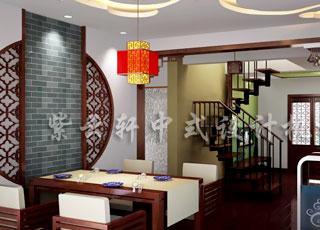一种大家风范—上海古典简约复式中式装修案例