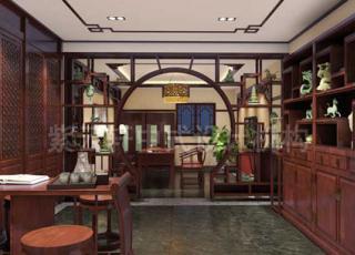 中式玉器会所设计装修 玉茗妙天下之美