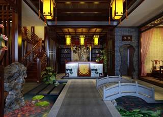 品味古典茶楼中式装修独特风格 受享人间雅致