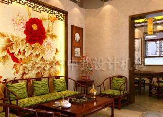 中式装修让你汲取古文化茶的精粹—毛家中式茶庄