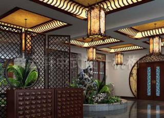 中式公装中医馆古典设计装修——用传承文明行养生之道