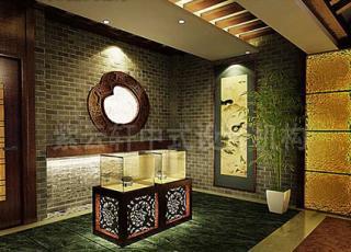 某茶楼古典中式装修设计案例-在古典中穿梭品味文化