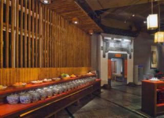 茶馆中式装修设计-岁月打磨着传说,中式新感觉