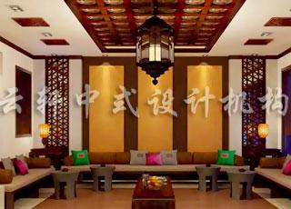 中式装修形成了中国风潮流—中式别墅装修案例