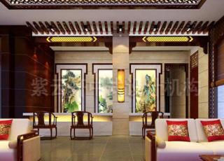 时光倒流回远古 如梦如幻—现代中式风格宾馆案例赏析