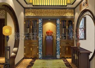 简约中式装修之别墅赏析-大气 高雅的韵味空间