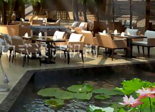 酒店中式装修设计-简约中式的古雅芬芳