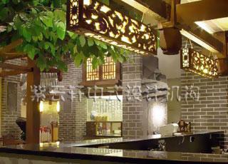 酒店中式装修设计-山西中式酒店案例