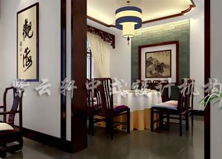 呈现幽静与温馨—现代中式装修风格餐饮会所