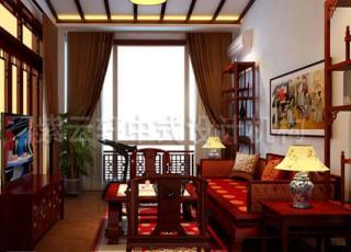 典雅简约中式别墅设计——在杨柳飞舞中畅享古意人生
