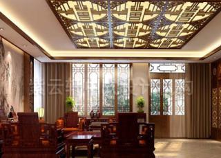简约中式别墅设计装修 享受非凡人生
