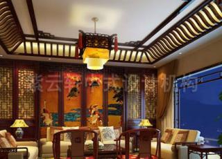简约中式别墅——用细节展现华美与富贵