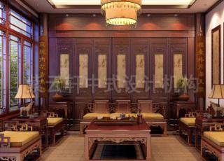 紫云轩简约中式别墅设计案例赏析