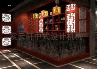传达中式古典的神韵—古典中式设计足疗会所