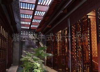 会所中式装修的魅力与品味-韵味在设计中表达