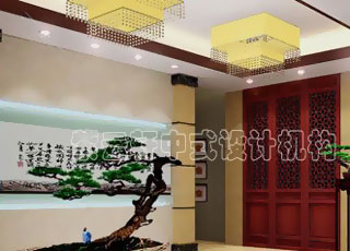 某会所简约中式装修风格设计-打造舒适、放松的人文休闲之所