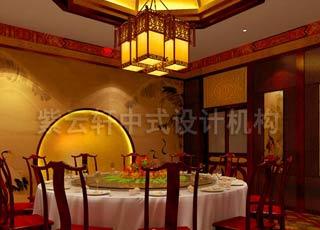 中式风格私人休闲会所设计装修效果图 融入浅浅的古韵
